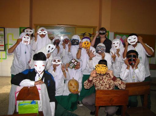 English Club masks!
