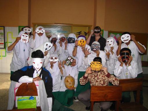 English Club masks!