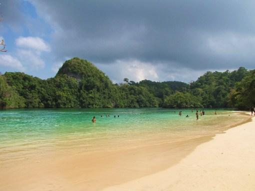 Lagoon at Sempu