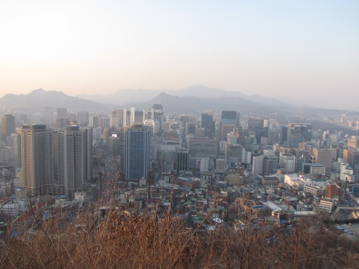 Photo Island view of Seoul