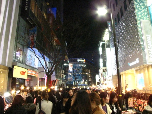 The chaos that is Myeong-Dong